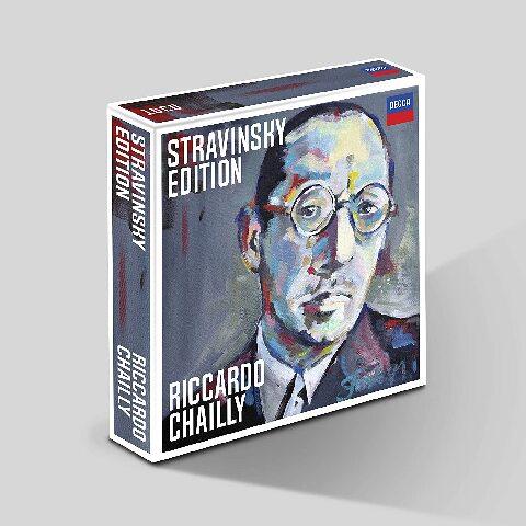 √Riccardo Chailly Stravinsky Edition (13 CD Box ) von Riccardo Chailly - Box set jetzt im Bravado Shop