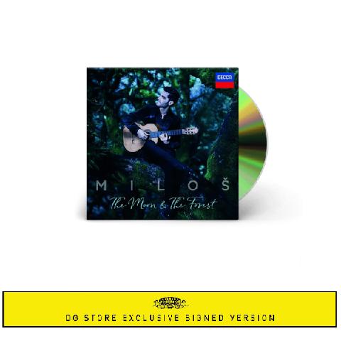 √The Moon & The Forrest (+Signed Booklet) von Miloš Karadaglić - CD-Bundle jetzt im Bravado Shop