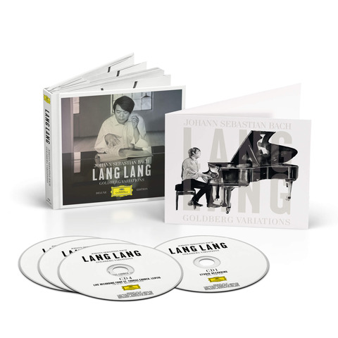 Bach: Goldberg Variations (Ltd. Deluxe Edition 4CD + Art Card) von Lang Lang - 4CD jetzt im Bravado Shop