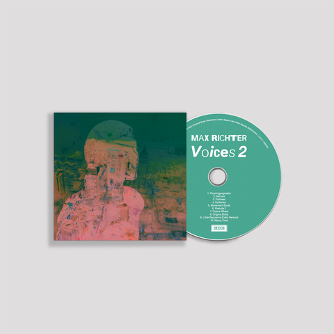 Voices 2 (CD + Signiertem Bonus Cover) von Max Richter - CD + Autogramm jetzt im Bravado Shop