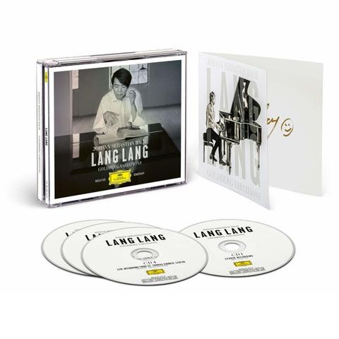 Bach: Goldberg Variations von Lang Lang - 4CD Brilliantbox + Signierte Ardcard jetzt im Bravado Store