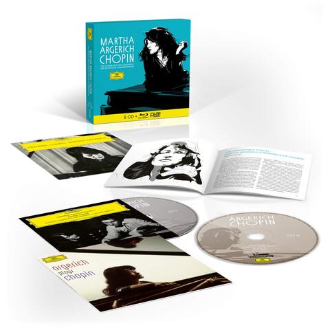 √Sämtliche Chopin-Aufnahmen für die Deutsche Grammophon (5CD + Blu-Ray Audio) von Martha Argerich -  jetzt im Bravado Shop