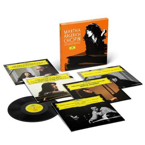√Sämtliche Chopin Solo- und Konzertaufnahmen für die Deutsche Grammophon (Ltd. Edition) von Martha Argerich -  jetzt im Bravado Shop