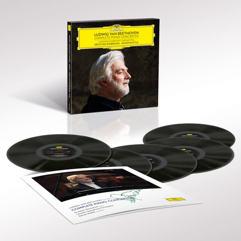 Beethoven: Complete Piano Concertos (Ltd. Signed 5LP Boxset) von Krystian Zimerman - Boxset jetzt im Bravado Shop