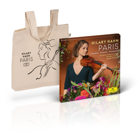 √PARIS (Excl. Bundle - Boxset+Tote Bag) von Hilary Hahn -  jetzt im Bravado Shop