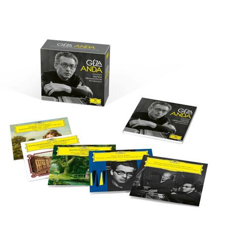Geza Anda: Complete DG Recordings (Ltd. Edit.) von Géza Anda - Boxset jetzt im Bravado Store