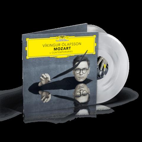 Mozart & Contemporaries (Ltd. Crystal Clear 2LP) von Víkingur Ólafsson - 2LP jetzt im Bravado Shop