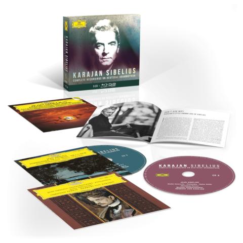 Karajan Sibelius: Complete Recordings On Deutsche Grammophon (5CD Box) von Herbert von Karajan & Die Berliner Philharmoniker - Boxset jetzt im Bravado Shop