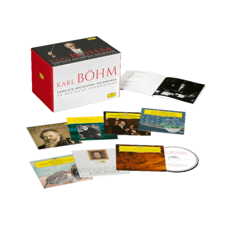 Complete Orchestral Recordings On Deutsche Grammophon von Karl Böhm - Boxset jetzt im Bravado Store