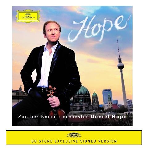 Hope (Exclusive Signed CD) von Daniel Hope - CD jetzt im Bravado Shop
