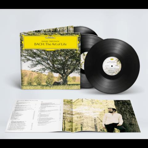 Bach: The Art Of Life (Exclusive 3LP + Signed CD Booklet) von Daniil Trifonov - LP-Bundle jetzt im Bravado Store