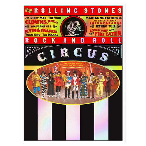 Rock and Roll Circus (Special Limited Deluxe Edition) von The Rolling Stones - DVD / Blu ray / 2CD jetzt im Bravado Shop