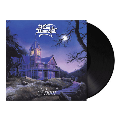 √Them (Vinyl Re-Issue Black) von King Diamond - LP jetzt im Bravado Shop