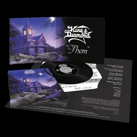 √Them (Ltd. Vinyl Replica Digi CD) von King Diamond - CD jetzt im Bravado Shop