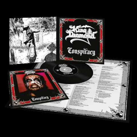 √Conspiracy (Ltd. Vinyl Replica Digi CD) von King Diamond - CD jetzt im Bravado Shop