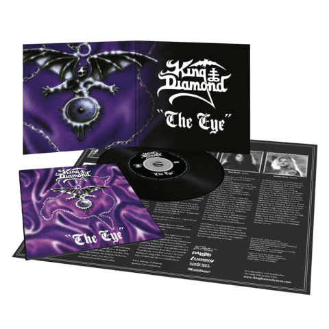 √The Eye (Vinyl Replica Digi CD) von King Diamond - CD jetzt im Bravado Shop
