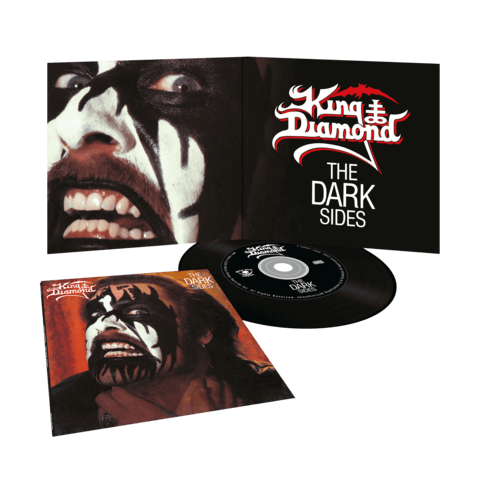 The Dark Sides (Re-Issue Vinyl Replica) von King Diamond - CD jetzt im Bravado Shop