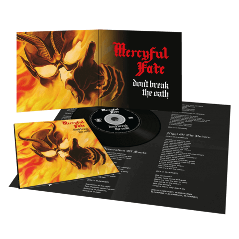 √Don't Break The Oath (Vinyl Replica Digi CD) von Mercyful Fate - CD jetzt im Bravado Shop