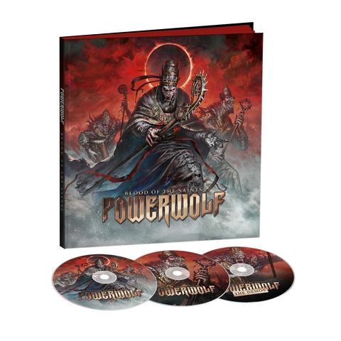 Blood Of The Saints (10th Anniversary Edition) - Ltd. Earbook von Powerwolf - Earbook jetzt im Bravado Store