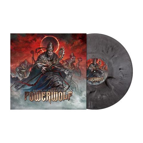 Blood Of The Saints (10th Anniversary Edition) - Ltd. Silver Black Marbled Vinyl von Powerwolf - Coloured LP jetzt im Bravado Store