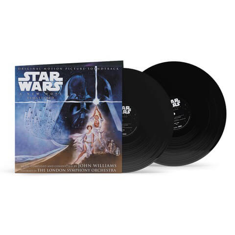 √John Williams - Star Wars 'A New Hope' Original Motion Picture Soundtrack von John Williams - 2LP jetzt im Bravado Shop