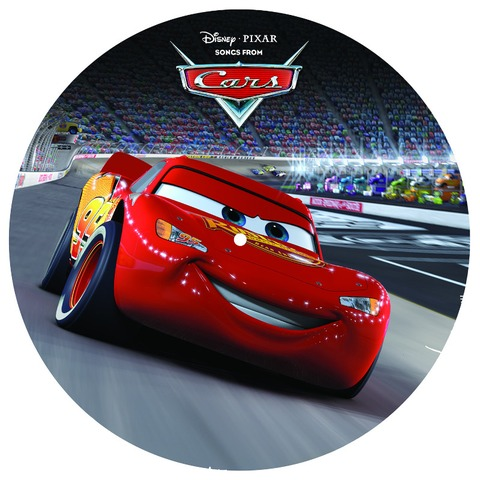"""Disney - Songs From Cars 12"""" Picture Disc von Various Artists - Picture LP jetzt im Bravado Store"""