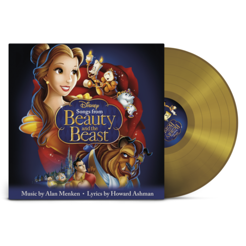 Disney - Songs From The Beauty And The Beast (Exclusive Limited Gold Colour Vinyl) von Various Artists - LP jetzt im Bravado Store