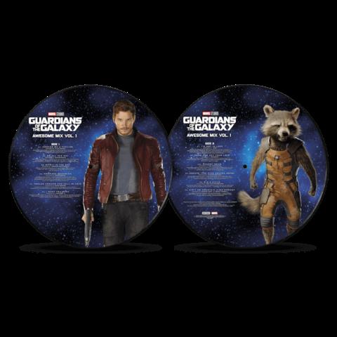 Guardians Of The Galaxy Vol. 1 (Picture Disc) von Various Artists - Picture LP jetzt im Bravado Store