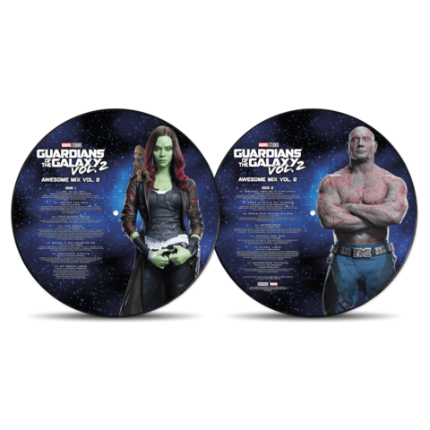 Guardians Of The Galaxy: Awesome Mix Vol.2 von Various Artists - Picture Disc LP jetzt im Bravado Store