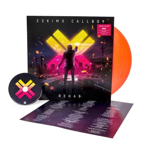 Rehab (Ltd. Neon Orange Vinyl) von Eskimo Callboy - LP jetzt im Bravado Shop