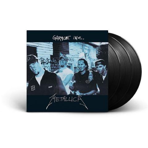 √Garage Inc (3LP) von Metallica -  jetzt im Bravado Shop