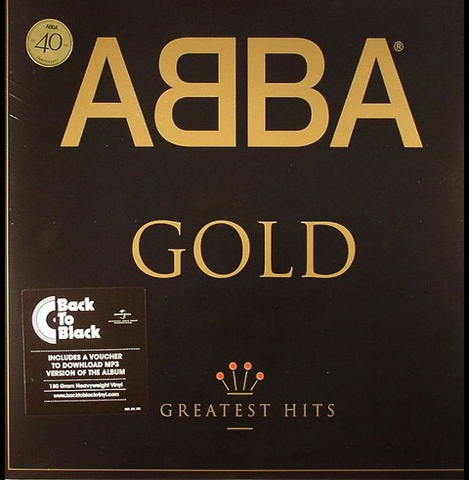 Gold (Limited Back To Black Vinyl 2LP) von ABBA - 2LP jetzt im Bravado Store
