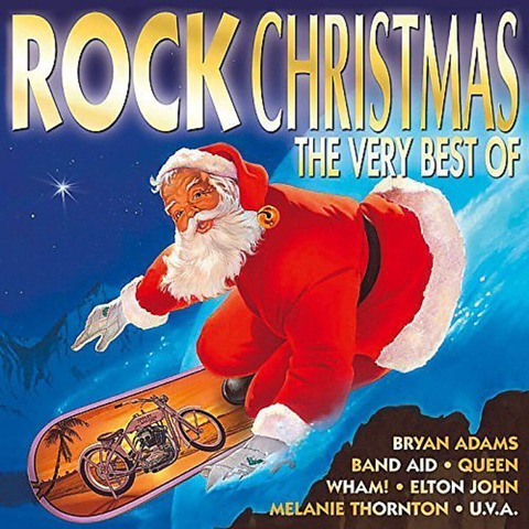 √Rock Christmas - The Very Best Of (New Edition) von Various Artists - 2CD jetzt im Bravado Shop