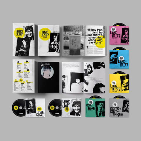 √Iggy Pop - The Bowie Years (Ltd. 7 CD Boxset) von Iggy Pop - Box set jetzt im Bravado Shop