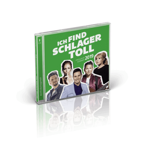 √Frühjahr/Sommer 2019 von Ich find Schlager toll - CD jetzt im Bravado Shop