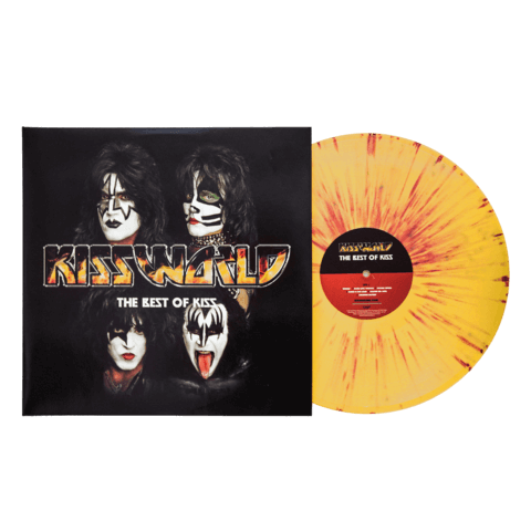 KISSWORLD - The Best Of KISS (Ltd. Coloured LP) von Kiss - 2LP jetzt im Bravado Shop
