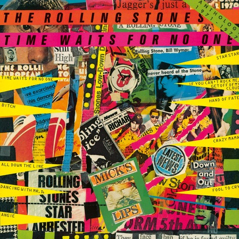 Time Waits For No One: Anthology 1971-1977 (Japanese SHM-CD) von The Rolling Stones - CD jetzt im Bravado Shop