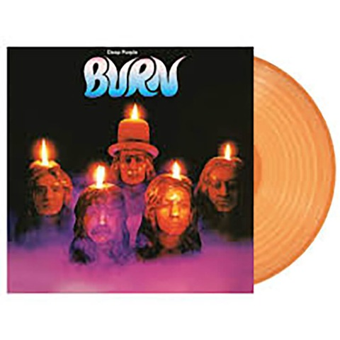 √Burn (Ltd. Coloured LP) von Deep Purple - LP jetzt im Bravado Shop