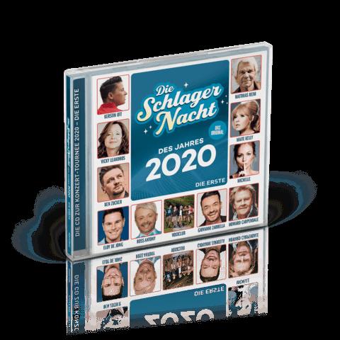 √Die Schlagernacht des Jahres 2020 von Die Schlagernacht des Jahres - CD jetzt im Bravado Shop