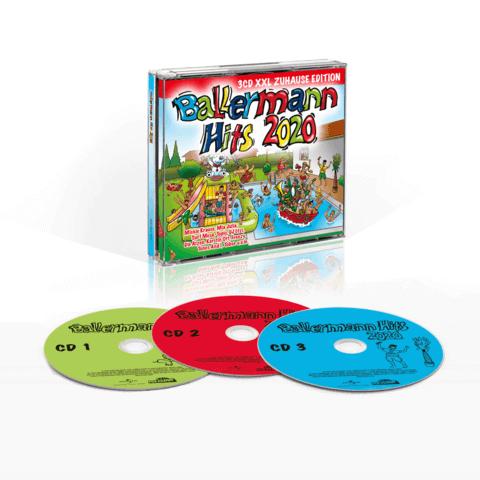 √Ballermann Hits 2020 (XXL Zuhause Edition) von Various Artists -  jetzt im Bravado Shop