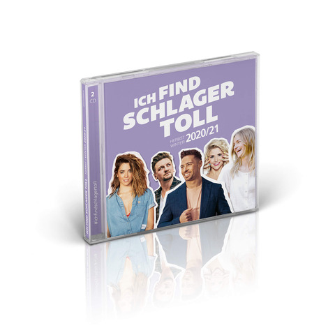 √Ich find Schlager toll - Herbst/Winter 2020/21 von Ich find Schlager toll - 2CD jetzt im Bravado Shop