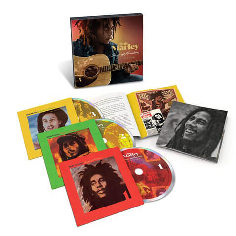 √Songs Of Freedom: The Island Years (Ltd. 3CD Boxset) von Bob Marley - Box set jetzt im Bravado Shop