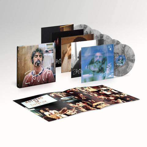 ZAPPA (Original Motion Picture Soundtrack - Ltd. 5LP - Smoke Colour Vinyl) von Frank Zappa - 5LP Box jetzt im Bravado Shop