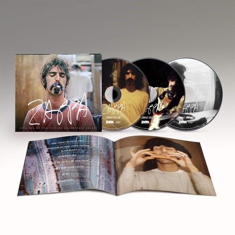 √ZAPPA (Original Motion Picture Soundtrack - 3CD) von Frank Zappa - 3CD jetzt im Bravado Shop