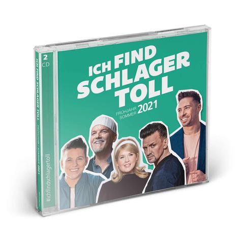 √Ich Find Schlager Toll (Frühjahr / Sommer 2021) von Ich find Schlager toll - 2CD jetzt im Bravado Shop
