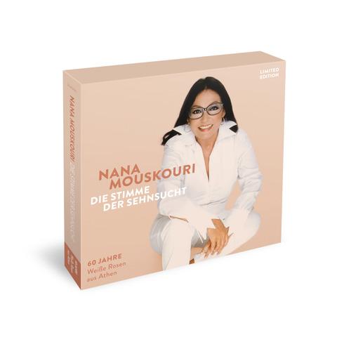 """Die Stimme Der Sehnsucht (Limitierte 3CD + 7"""" Vinyl Boxset) von Nana Mouskouri - Boxset jetzt im Bravado Store"""