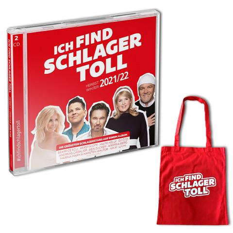 Ich Find Schlager Toll - Herbst/Winter 2021/22 (Exklusive 2CD + Jutetasche) von Ich find Schlager toll - 2CD + Jutetasche jetzt im Bravado Store