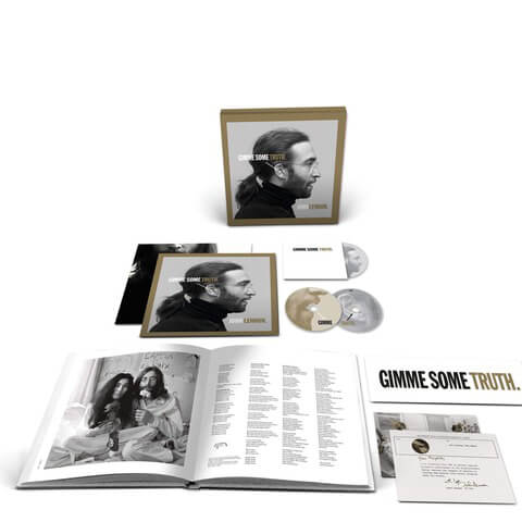 √GIMME SOME TRUTH. (Ltd. 2CD+BluRay Box) von John Lennon - Box jetzt im Bravado Shop