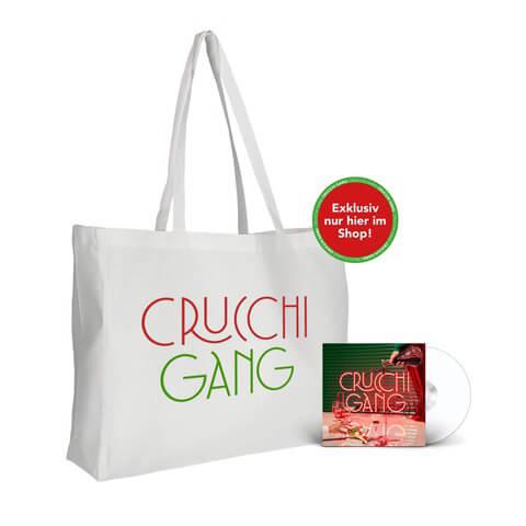 √Crucchi Gang (CD + Strandtasche) von Crucchi Gang - CD-Bundle jetzt im Bravado Shop