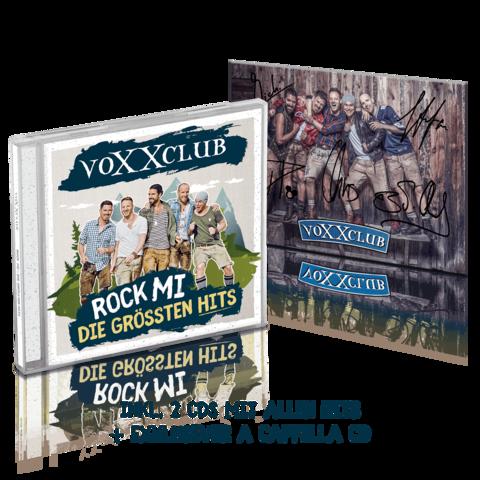 √Rock Mi - Die größten Hits (Deluxe Edition + Autogrammkarte) von Voxxclub - CD jetzt im Bravado Shop
